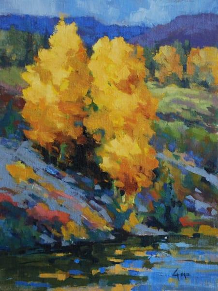 Fall On The Yampa Art   Gary Gore