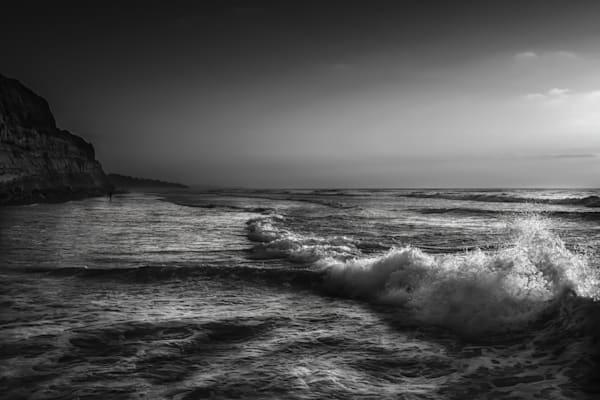 Backlit Waves @ Blacks Beach Photography Art | Rinenbach Photography