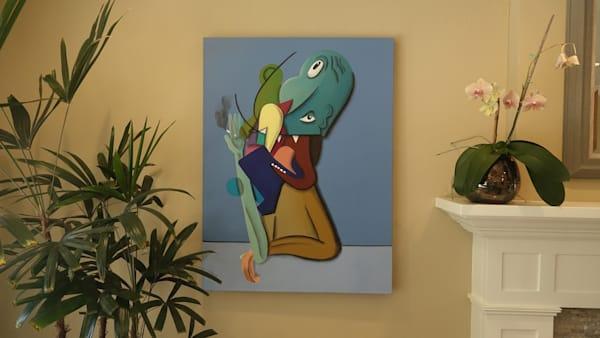 The Smoker Art   Dodge Williams