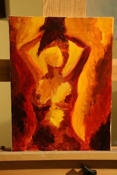 Persona Oil Figure 7 Art   Susan Searway Art & Design