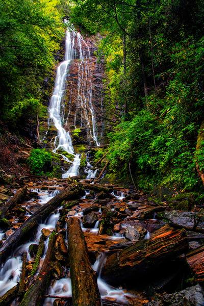 Mingo Falls - North Carolina waterfalls fine-art photography prints
