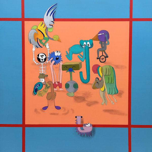 Zoo Friends Art | Dodge Williams
