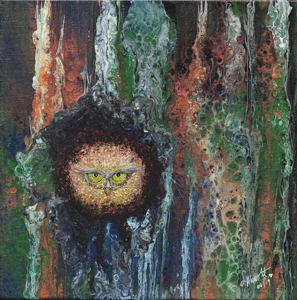 Acute Owl 495 Art   lisaabbott.art