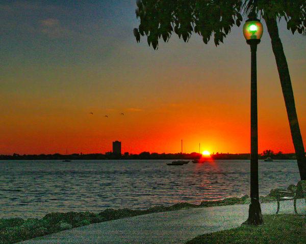 Bayfront Park At Dusk Photography Art | It's Your World - Enjoy!