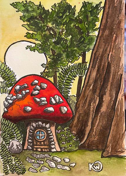 Fairy House 04 Art | Water+Ink Studios