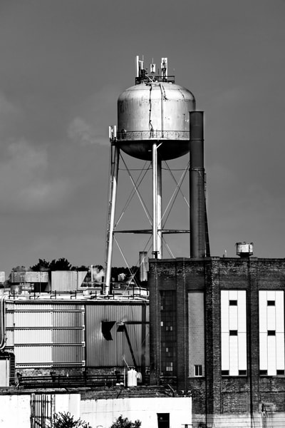 Water Tower 2 Photography Art | Elizabeth Stanton Photography