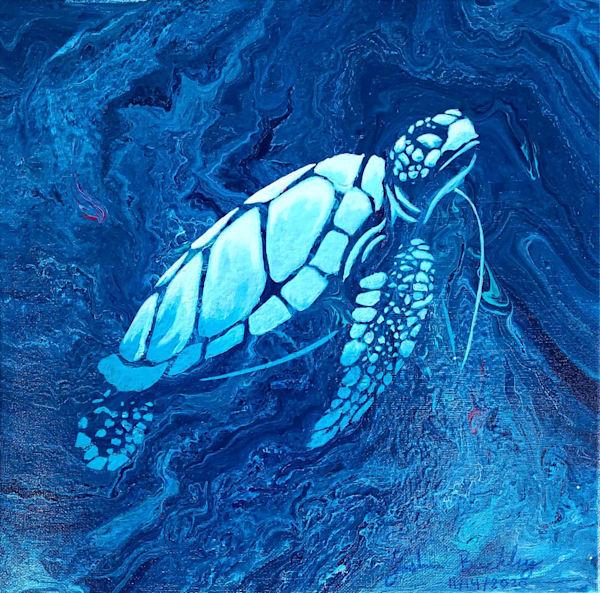 Deep Blue Sea Tote Bag Photography Art   Silver Sun Photography