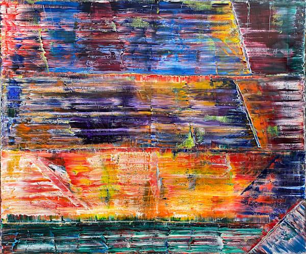 Solarium xt large oil painting