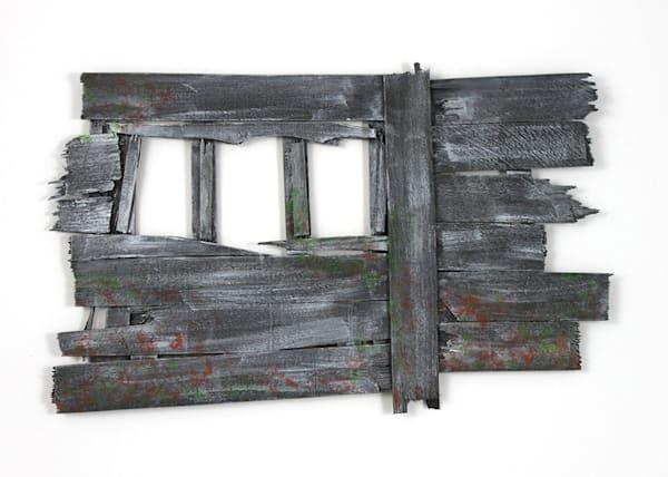 Fragment: A Postcard Art Print by Jennifer Akkermans