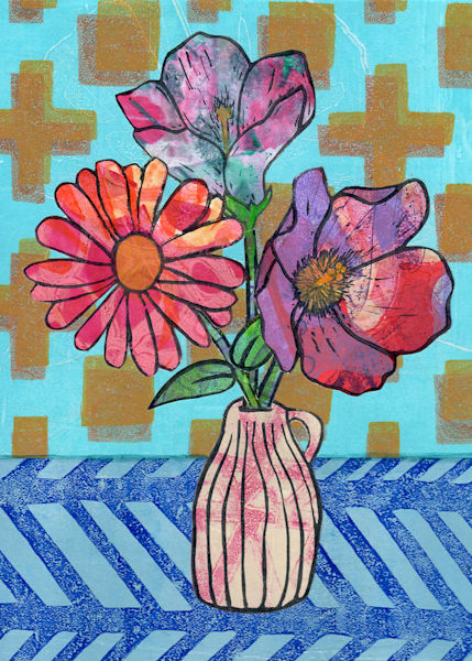 Friendship Postcard Print | Jennifer Akkermans
