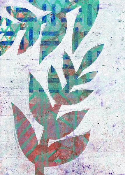Leaf: A Postcard Print by Jennifer Akkermans