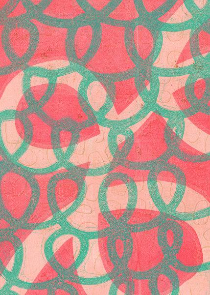 Loop de Loop: Fine Art Postcard Prints by Jennifer Akkermans