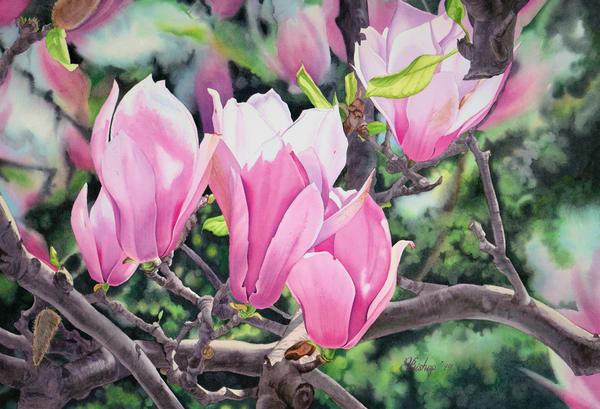 Springtime Art | victoriabishop.art