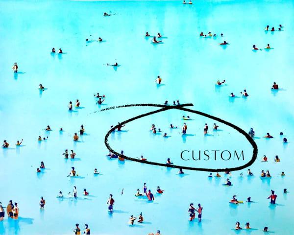 Custom Print : Beach People | Steven Dragan Fine Art