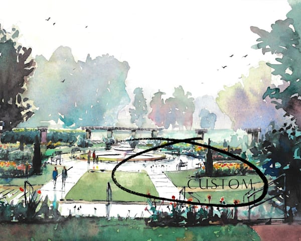 Custom : Loose Park 1 | Steven Dragan Fine Art