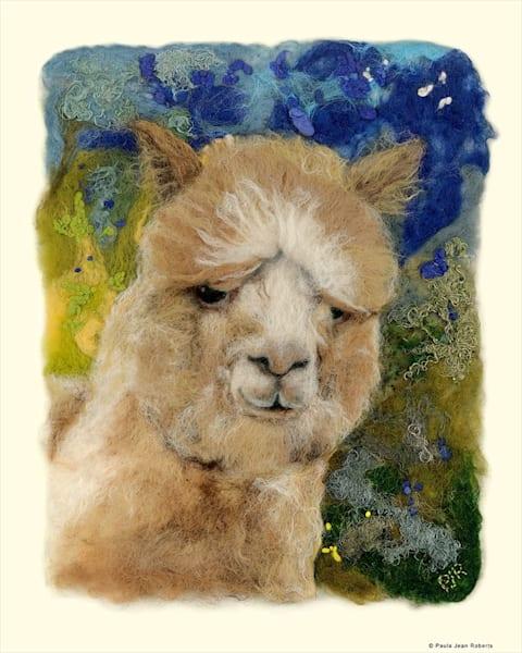 """Baby Roo"" fine art print by Paula Jean Roberts."