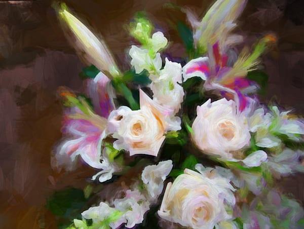 White Roses Art | Light Pixie Studio