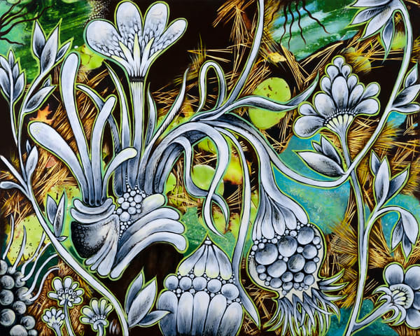 Evergreen Estuary Art | Hava Gurevich Art