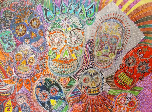 Day Of Dead Days Art   Cynthia Christensen Art