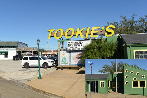 Tookie's Hamburgers opened in Seabrook, Texas in1974