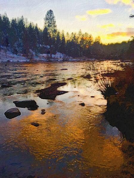 Deshutes Sunrise Art | Scott Dyer Fine Art