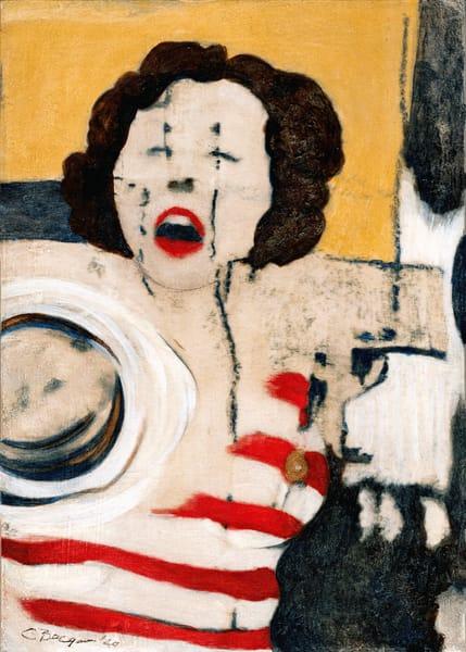 The Scream, Print, 2020, by artist Carolyn A. Beegan