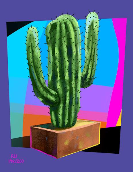 Neo Cactus Art | Matt Pierson Artworks