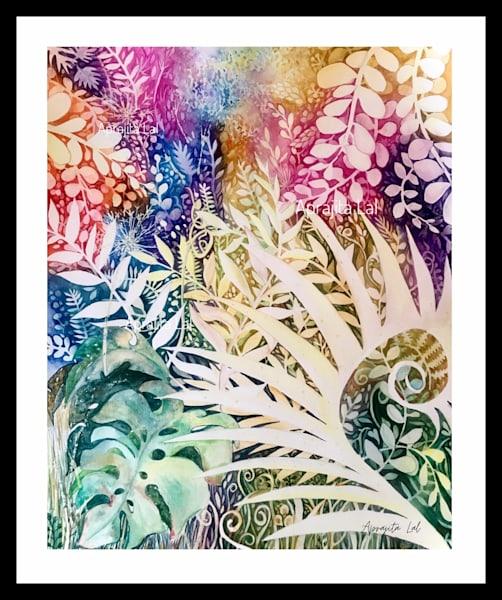 """""""Spring Blooms"""" in Watercolors by Aprajita Lal (Original 16x20)"""