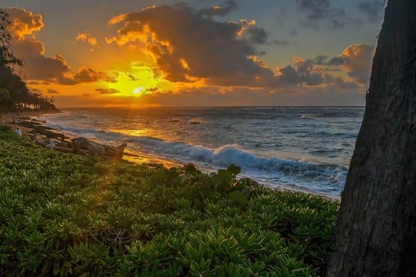 Sunrise from the Southeastern shore of Kauai