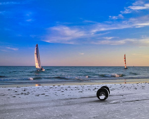 Sails At Sunset Photography Art   It's Your World - Enjoy!