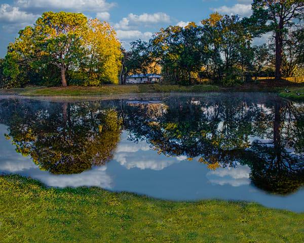 Reflected view of Pond at Sarasota Springs