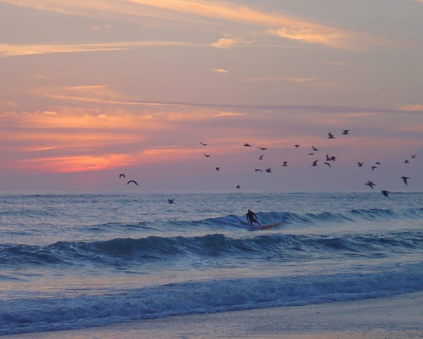 Surfer At Sunset Photography Art | It's Your World - Enjoy!