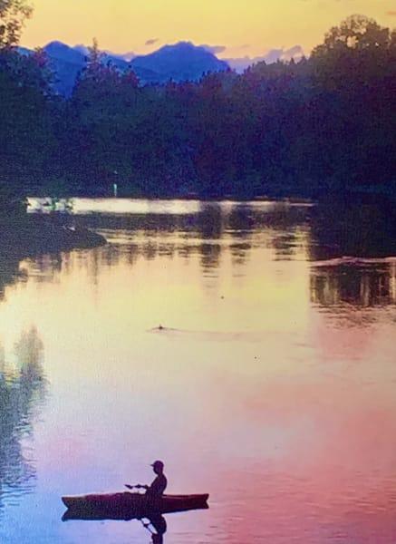 Mirror Pond Sunset Art | Scott Dyer Fine Art