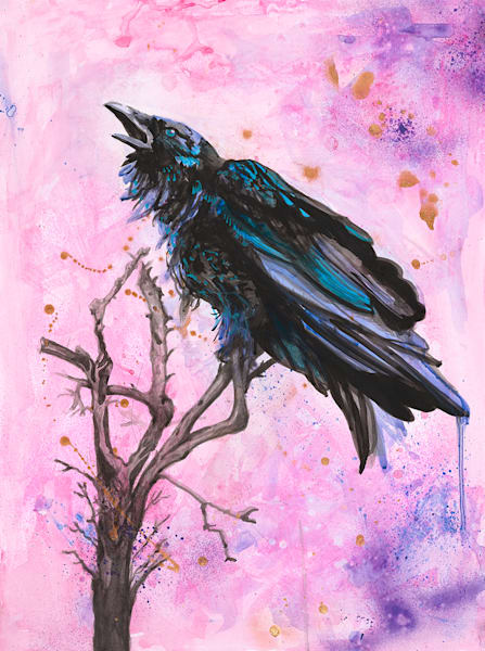 Raven Spirit Art | Sarah E. McCord- Metaphysical Portraitist