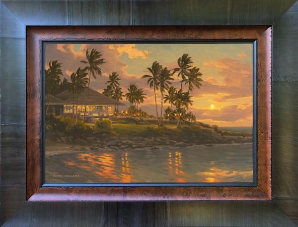 Kapalua Sunset Framed in Stock