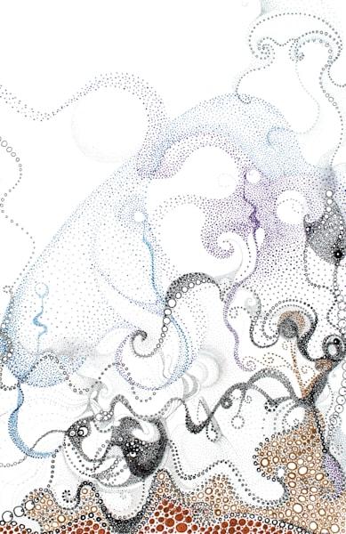 Circles Making Lines And Forms, 4 Art   Artist Rachel Goldsmith, LLC