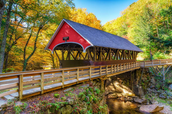 Autumn in Flume Gorge | Shop Photography by Rick Berk
