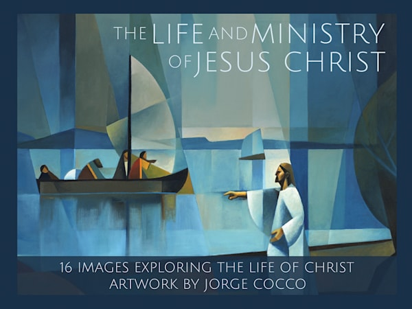 The Life And Ministry Of Jesus Christ   Minicard Pack   Cornerstone Art