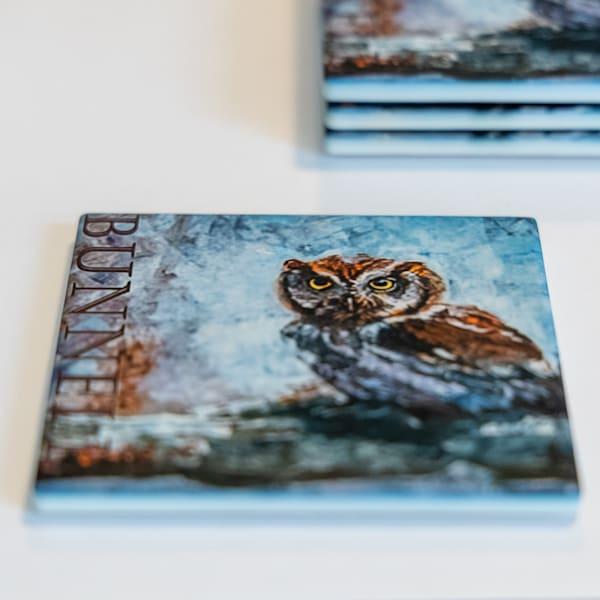 Coasters   Set Of Four | Jamie Lightfoot, Artist