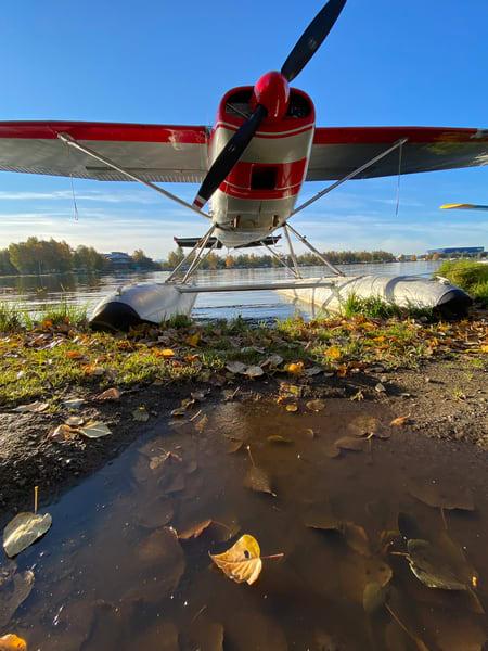 Floatplane At Lake Hood Photography Art   Visionary Adventures, LLC