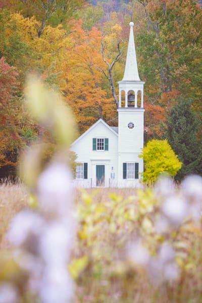 Autumn at Wonalancet Union Church | Shop Photography by Rick Berk