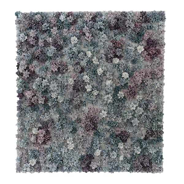 Garden Bonanza   Purpurite And Apatite Art   Lauren Naomi Fine Art