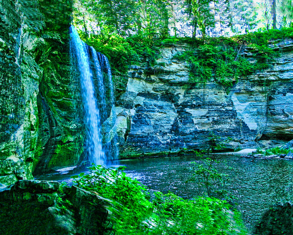 Waterfall In Mn Photography Art | It's Your World - Enjoy!