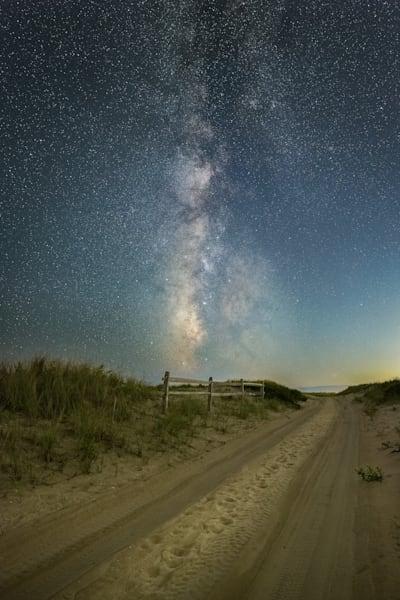 Shinnecock Milky Way Ii Photography Art   Teaga Photo