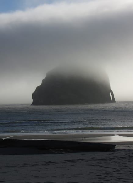 Haystack Rock Pacific City Limited Edition Matted Photography Art | Photoissimo - Fine Art Photography