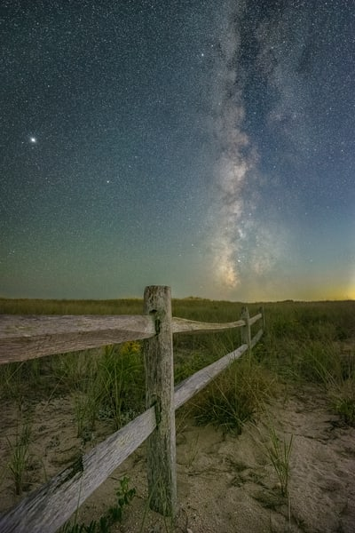 Shinnecock Milky Way Photography Art   Teaga Photo