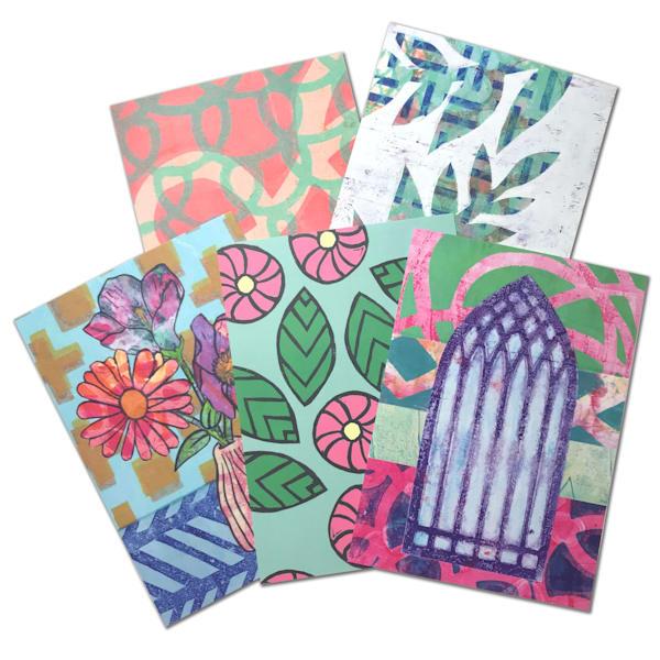 Mystery Postcard Print Pack: A Random Assortment of Postcard Prints by Jennifer Akkermans