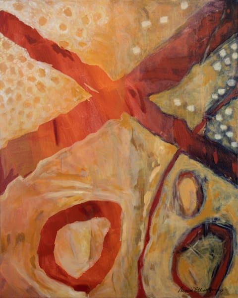 Orange Color Tones Abstract Contemporary Fine Art Order Today