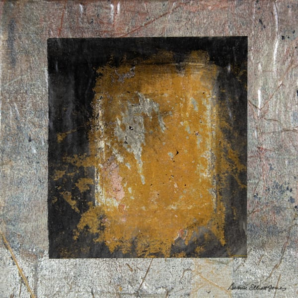 Modern Gold Tone Artwork for Dramatic Interior Design Presence.