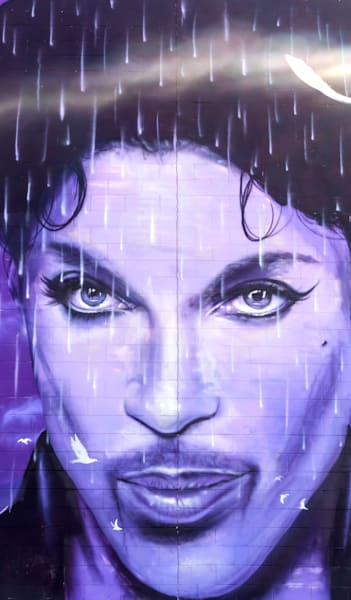 Prince Mural At The Chanhassen Cinema   Phone Case He Art Photography Art | William Drew Photography